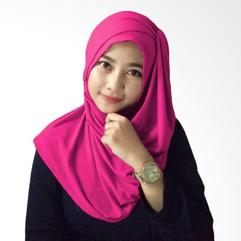 Hijabku Murah Hana Ceruti Hijab Instan - Fanta