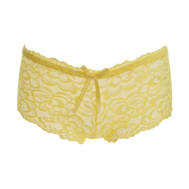 harga Lure Transparan Boxer Aerylin Celana Dalam - Kuning Blibli.com