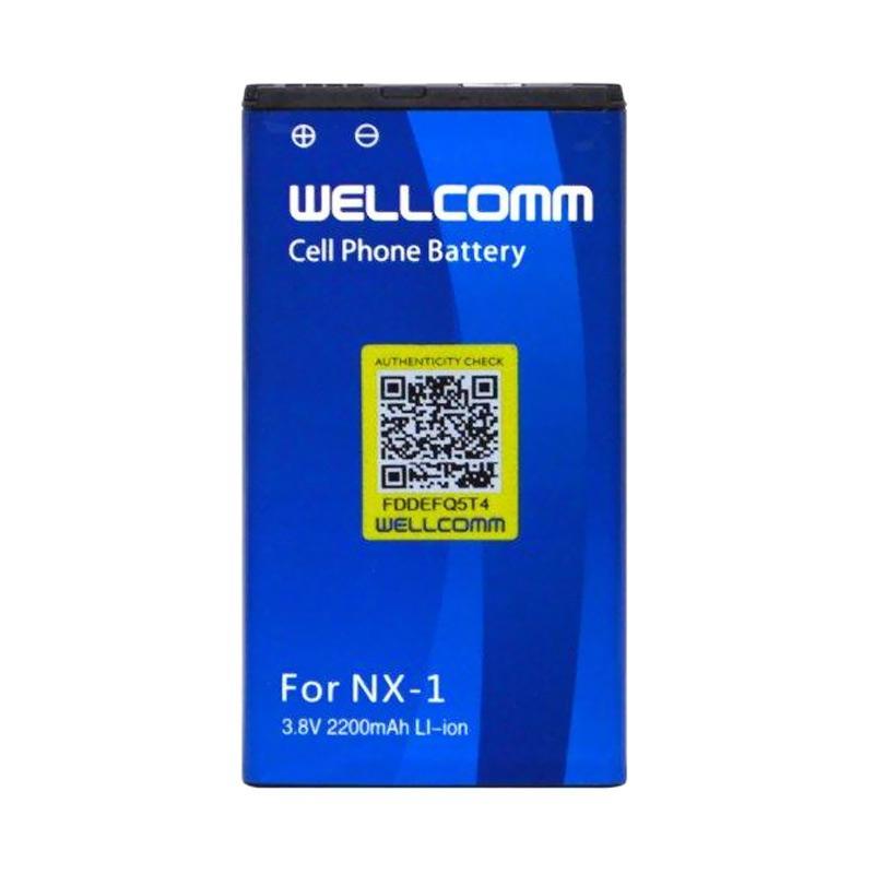 Welcomm Battery for BlackBerry Q10 or NX-1 - Biru