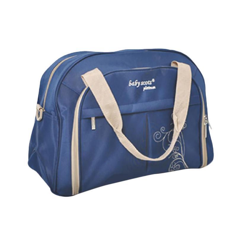 Baby Scots Platinum Mommy Bag 33 Tas Bayi - Biru