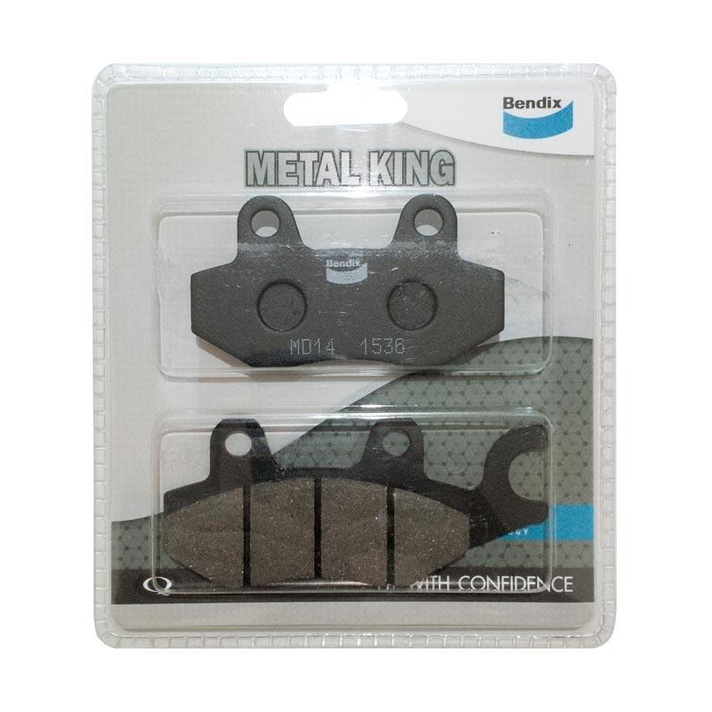 Bendix MD14 Metal Kampas Rem Depan for King/Ninja 250/Z250/Ninja Mono/150RR-R