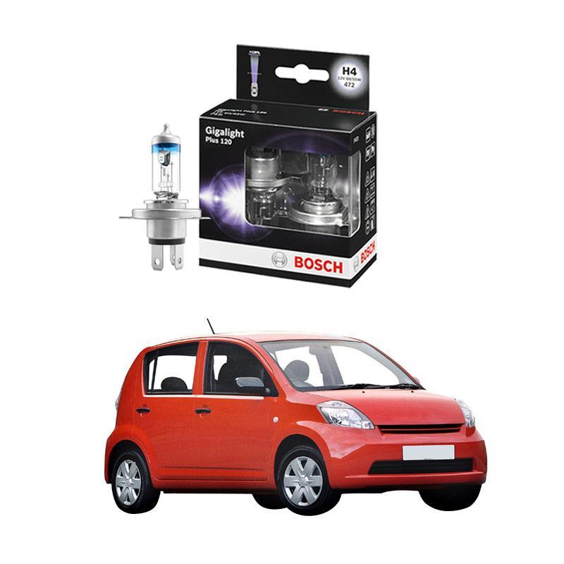 Bosch H4 Gigalight Bohlam Lampu For Sirion 1.3 2011 Ke Atas [1987301106]