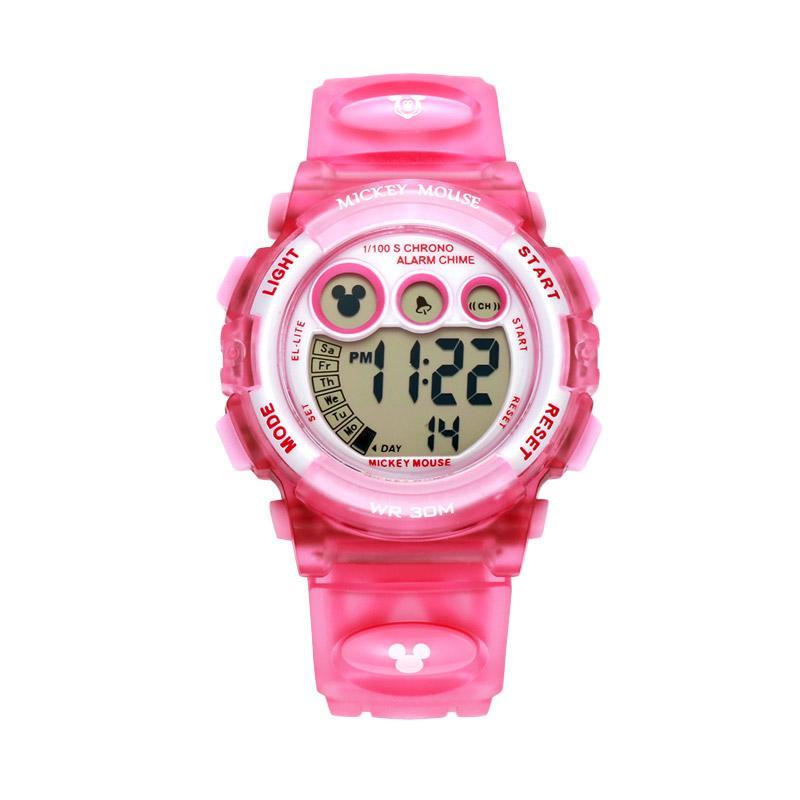 Disney MS15030-P Mickey Jam Tangan Sports Anak - Pink