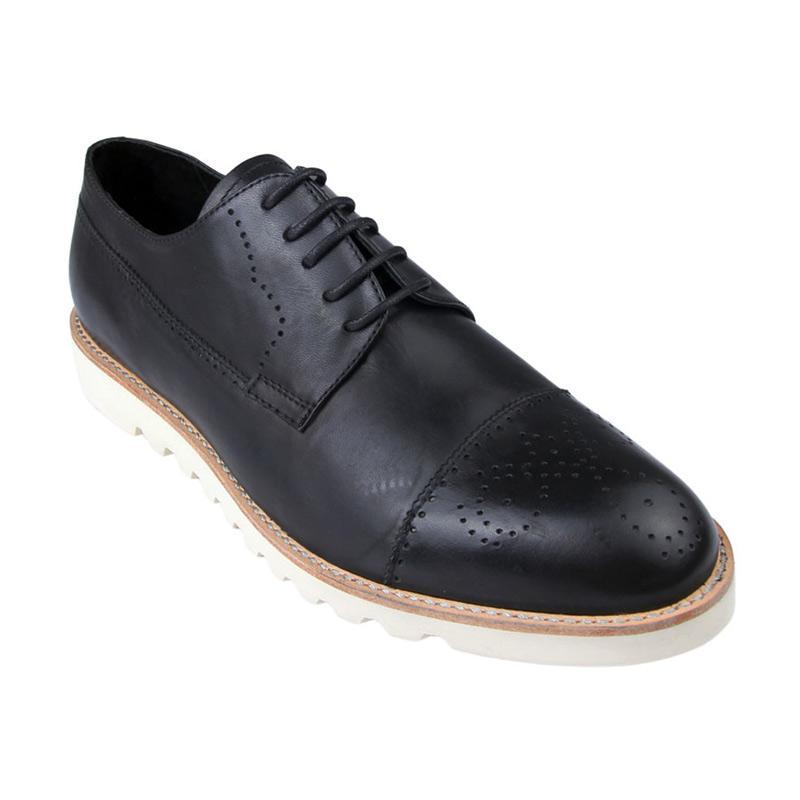 Ftale Footwear Bossa Mens Shoes Sepatu Pria - Black