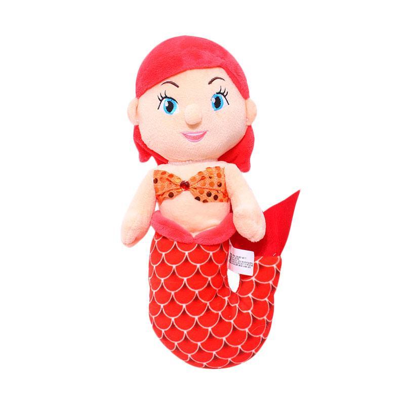Istana Kado IKO00754 Mermaid Girl Aluna Boneka - Merah