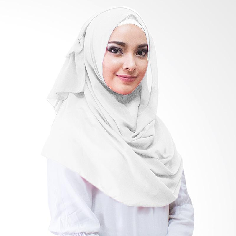 Milyarda Hijab Aime Kerudung Instan - Putih