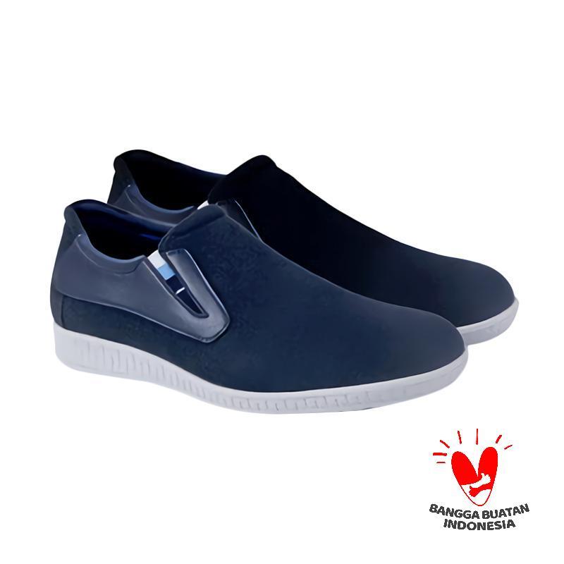 Spiccato SP 552.02 Formal Slip On Sepatu Pria - Biru