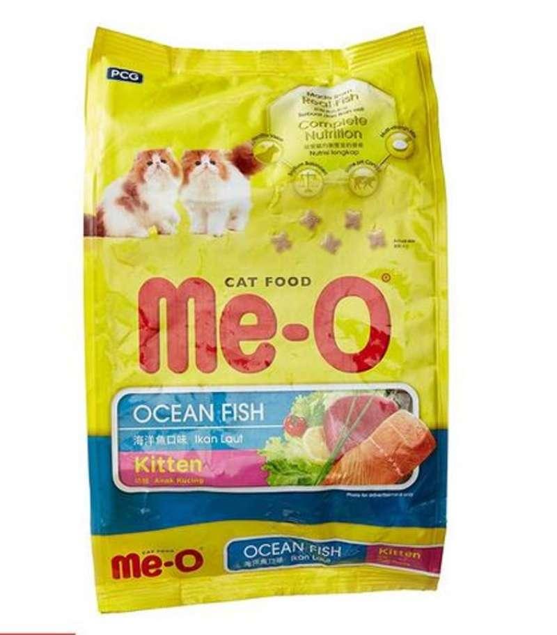 Meo Kitten Ocean Fish Cat Food Makanan Kucing 1 1kg