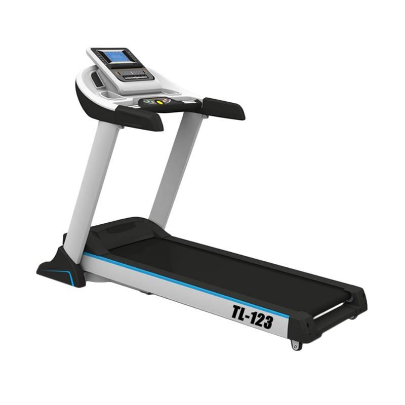 harga Pioner Fitnes Center Komersil Treadmill Elektrik - Putih [TL 123] Blibli.com