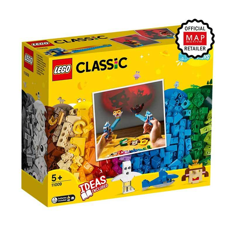 LEGO Classic 11009 Bricks and Lights Blocks Stacking Toys