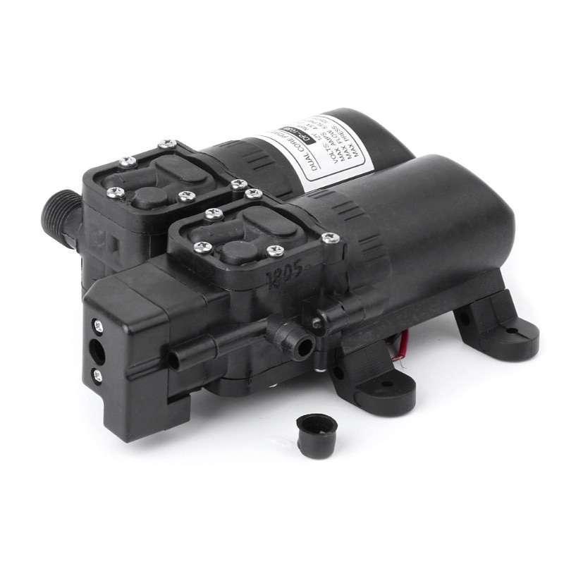 Jual Sailflo Pompa Air Elektrik Ganda Dual Core High Pressure 12v Fl 3208 Black Online Maret 2021 Blibli