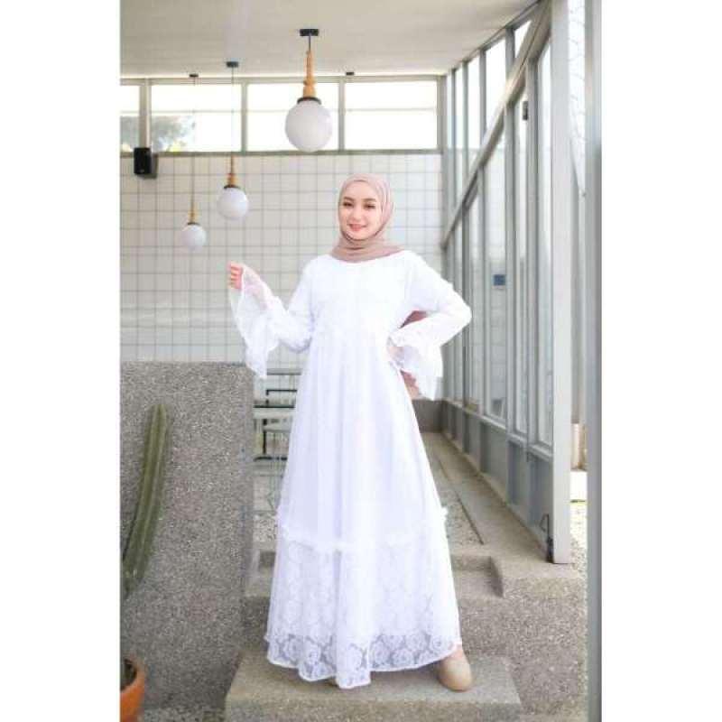 Jual Aluna Dress Gamis Maxi Pakaian Wanita Baju Muslim Online Maret 2021 Blibli