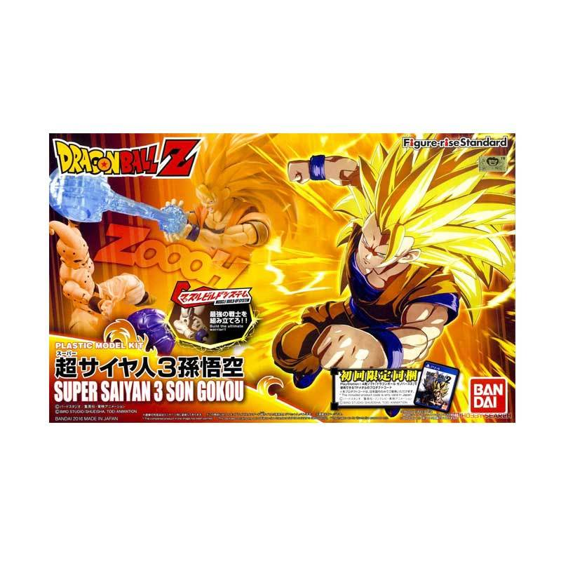 Bandai Figure-rise Standard Super Saiyan 3 Son Goku Action Figures