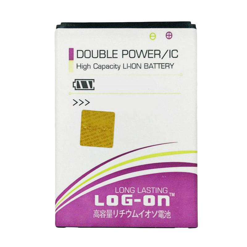 Log On Double Power Batterai for Asus Zenfone 5 [2400 mAh]