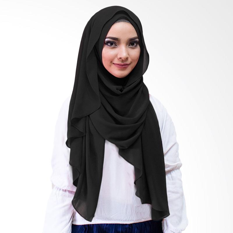 Milyarda Hijab Inara Kerudung Instan - Hitam