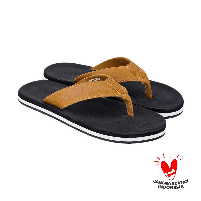 Raindoz RNO 078 Jurgen Sandal Flip Flop Pria - Black