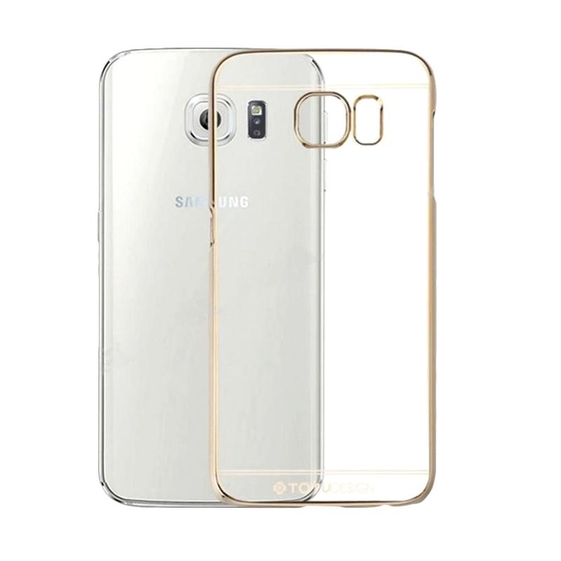 Totu Crystal Casing for Samsung Galaxy S6 - Gold