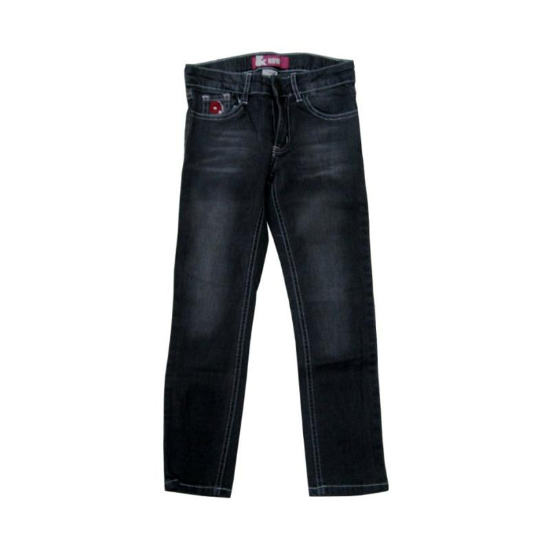 Wonderland Now Jeans Panjang Celana Anak - Hitam
