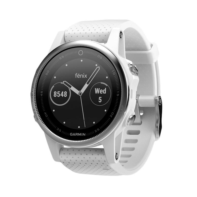 Garmin Fenix 5S Carrara Activity Trackers - White