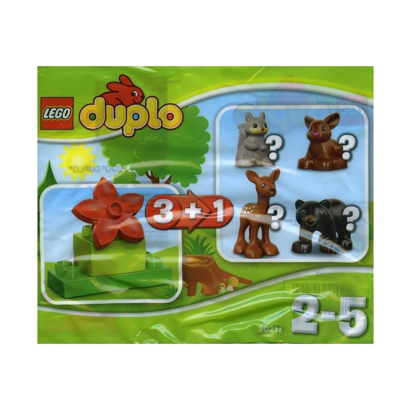 LEGO 30217 Duplo Forest Complete Collection 4 Polybags Mini Blocks