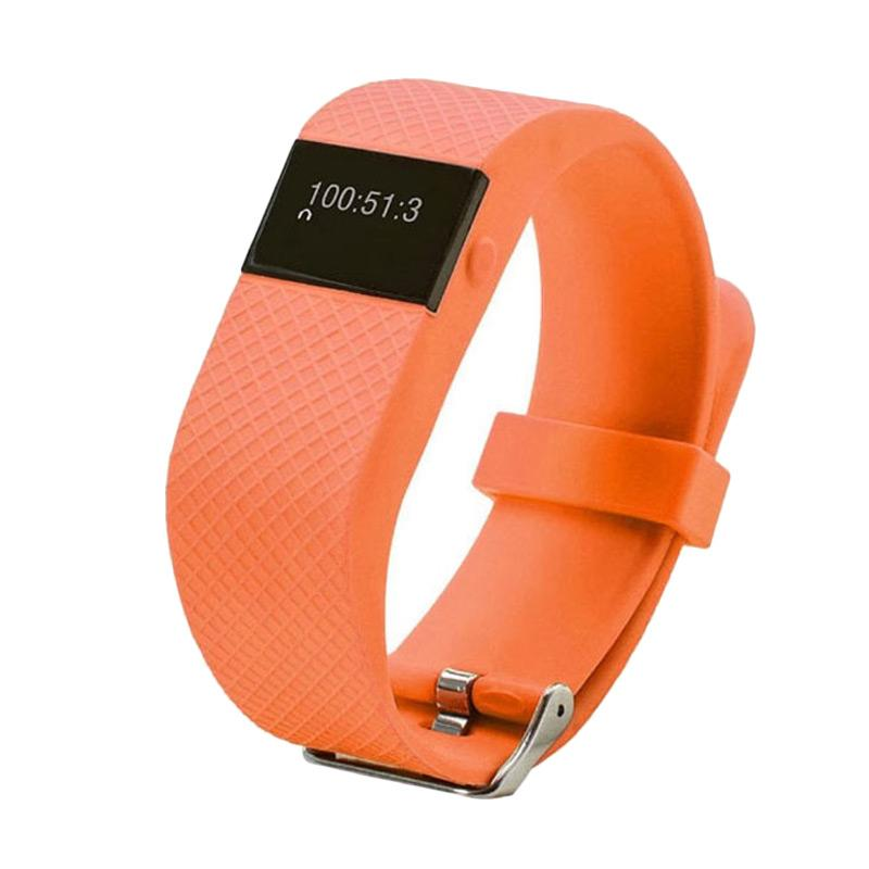 OEM TW64S Smartband with Heart Rate Monitor - Orange