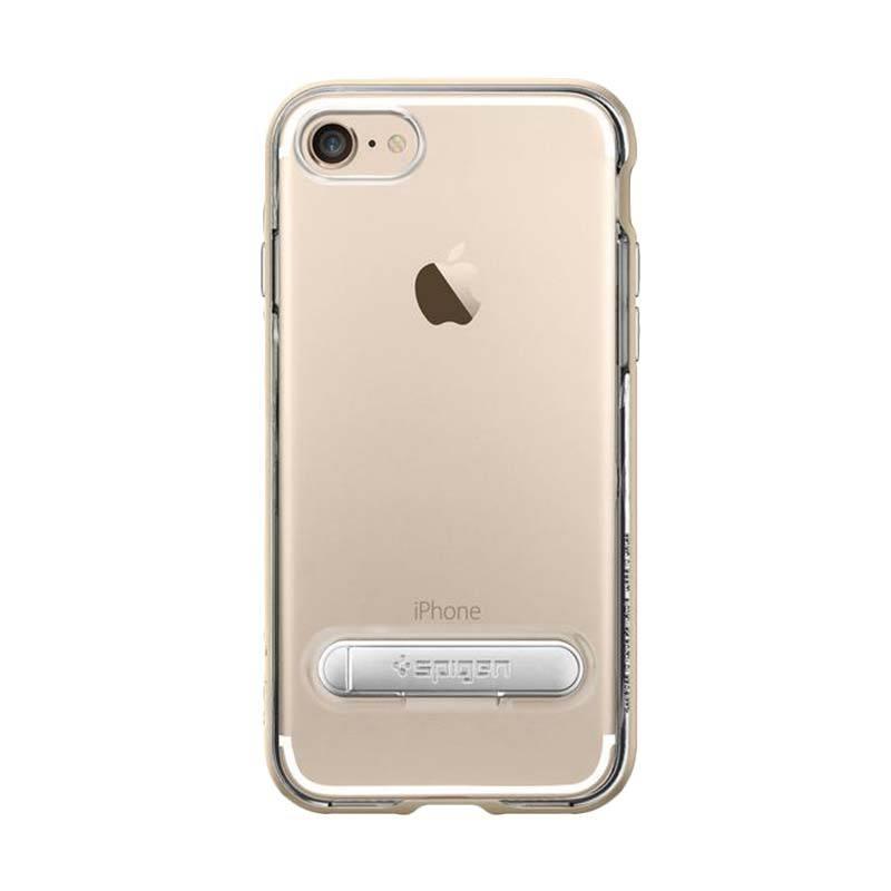 Spigen Crystal Hybrid Casing for iPhone 7 - Champagne Gold