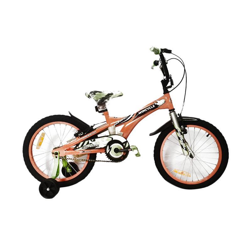 harga Wim Cycle Aggressor BMX Sepeda Anak - Orange [16 Inch] Blibli.com
