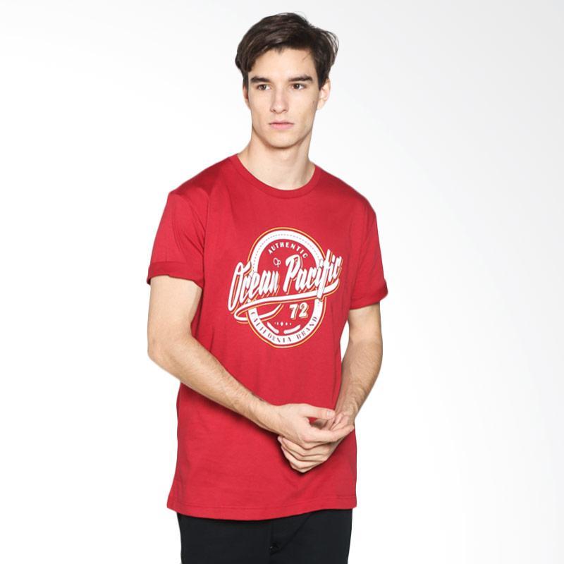 Ocean Pacific 03MTF98560 Mens Tshirt Fashion - Green