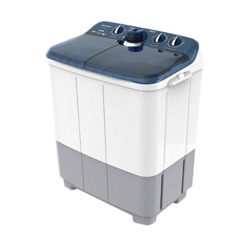 harga Panasonic NAW87FC1 Mesin Cuci 2Tabung [8 Kg] Putih Biru Blibli.com