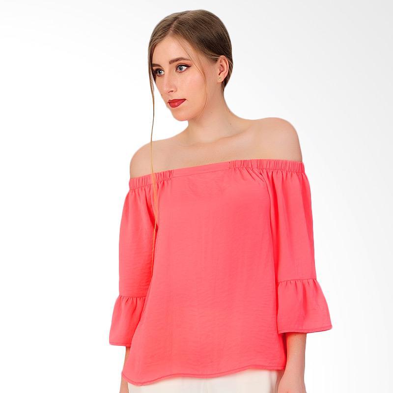 SJO & SIMPAPLY Shoulder Short Women's Blouses - Salem