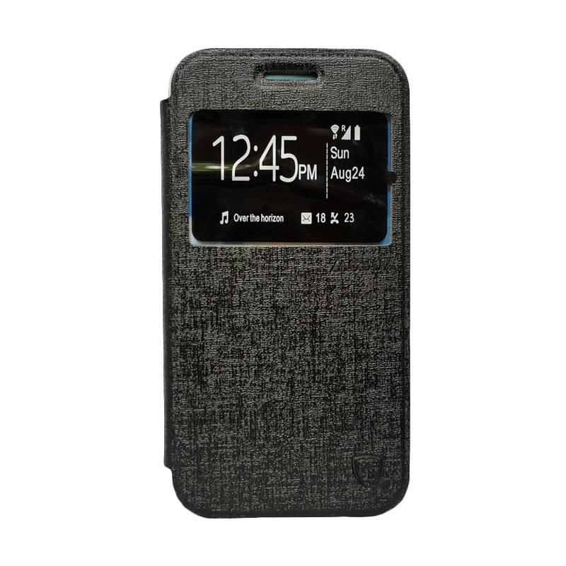 Zagbox Flip Cover Casing for Samsung Galaxy Grand i9082 - Hitam