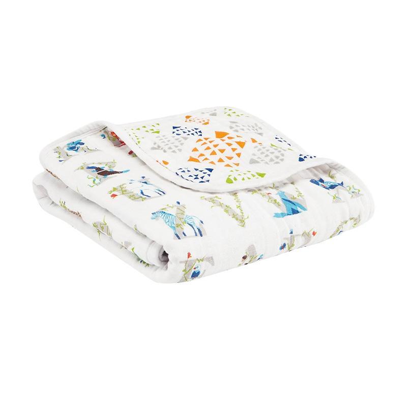 Aden+anais - Classic Stroller Blanket - Paper Tales - Selimut Stroller Bayi dan Anak