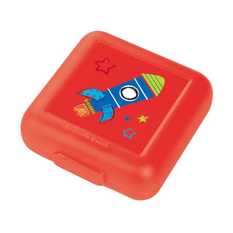 Crocodile Creek Sandwich Keeper Kotak Makan - Red Rocket