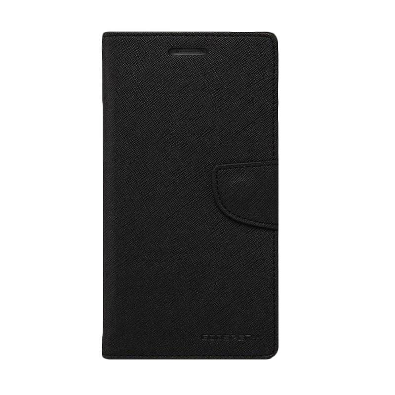 Mercury Fancy Diary Casing for iPhone 4S - Hitam
