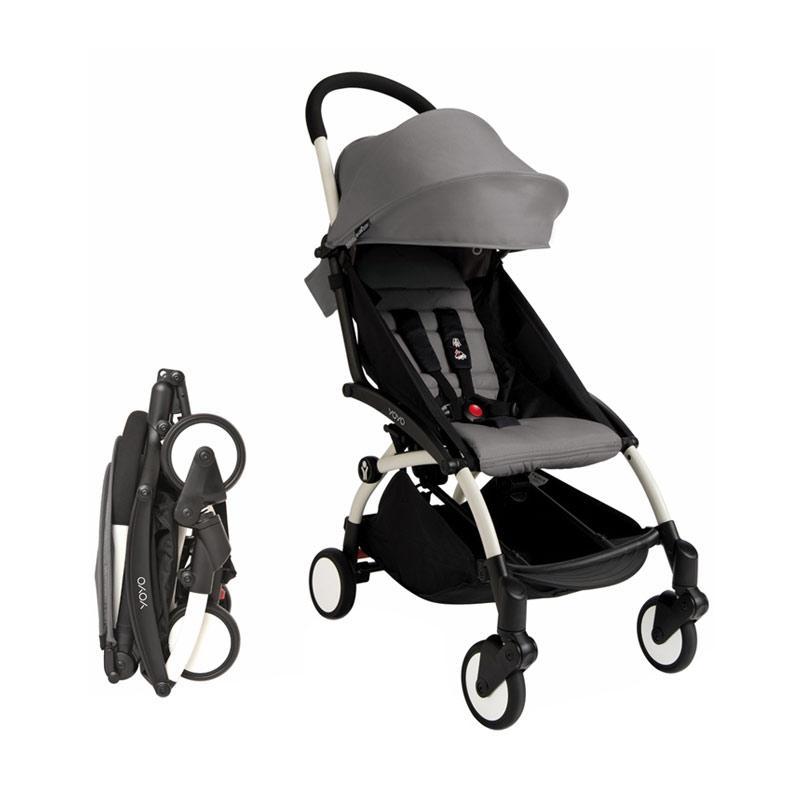 Babyzen Yoyo Stroller - Black Frame Grey [Complete Set]