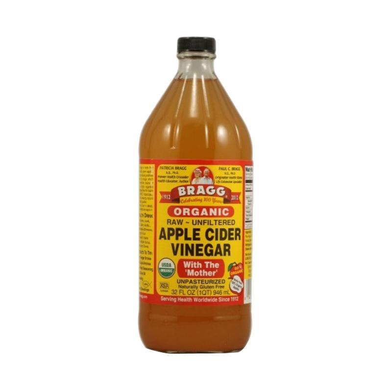 harga Bragg Organic Raw Apple Cider Vinegar Minuman Herbal [32 oz/946 mL] Blibli.com