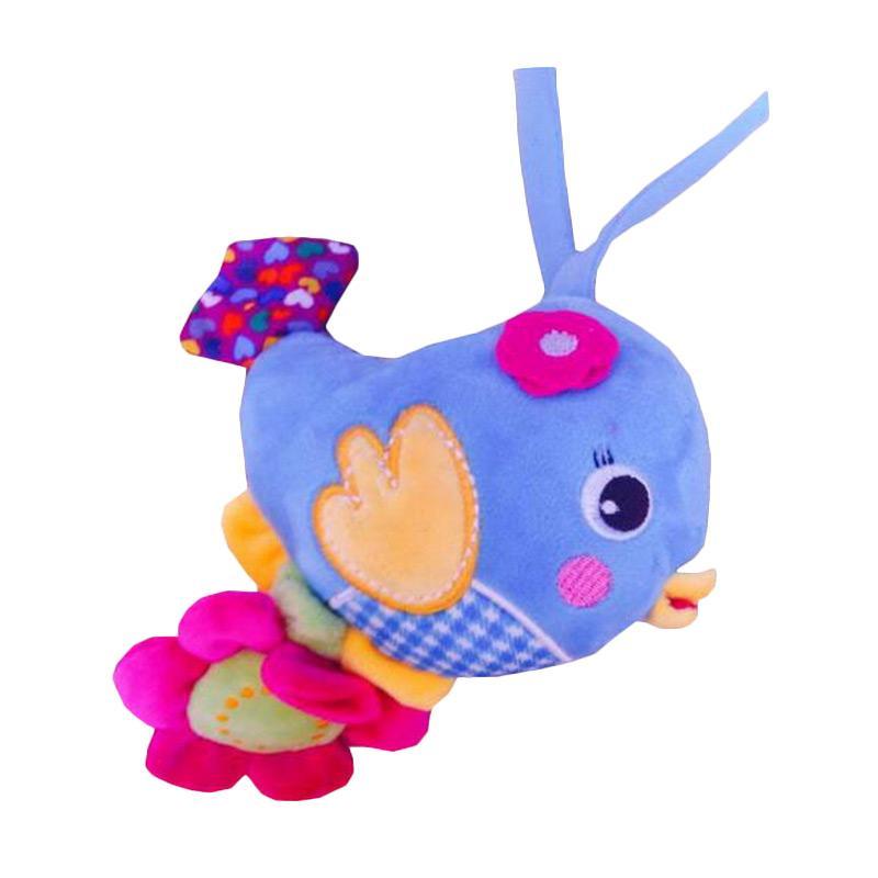 Rekomendasi Seller - Chloebaby Shop S202 Bird Flower Musik Tarik Mainan Anak