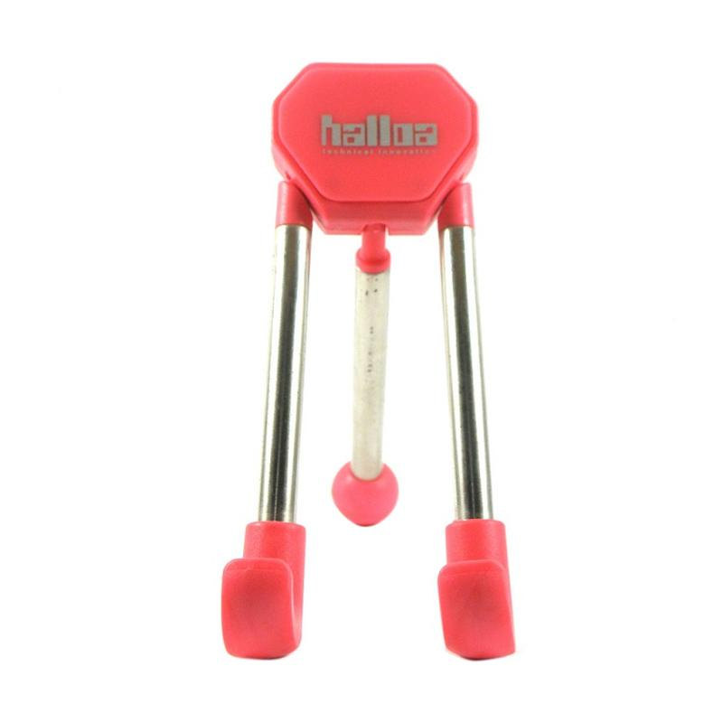 Halloa HN-5602 Mini Tripod Stand for Handphone or Tablet - Pink