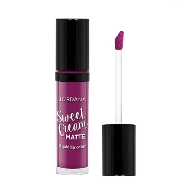 Jordana Sweet Cream Matte Lipstick - #26 Current Jam