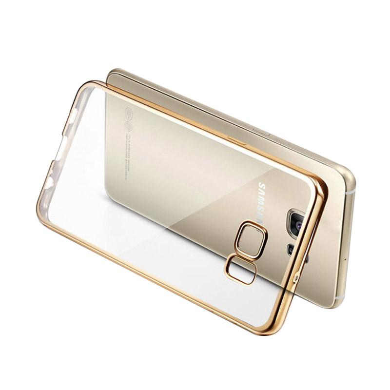 LIKGUS Tough Shield Casing for Samsung Galaxy S7 - Gold
