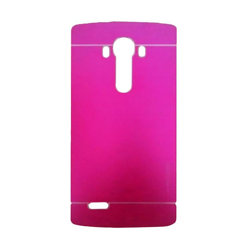 Motomo Metal Hardcase Backcase Casing for LG G4 - Pink