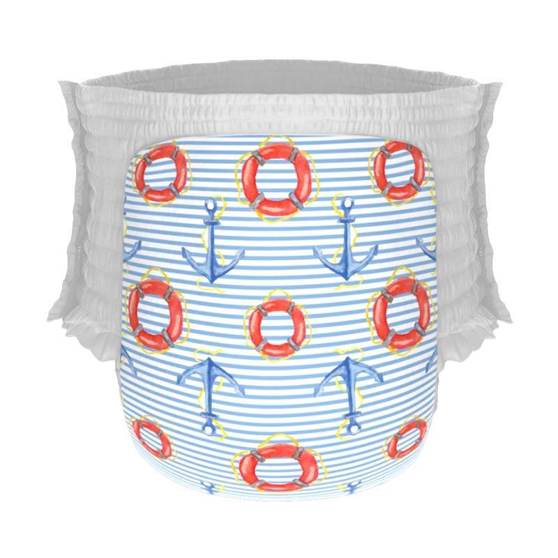 Happy Diapers Pant Popok Bayi - Nautical [Size L/26 pcs/A12]
