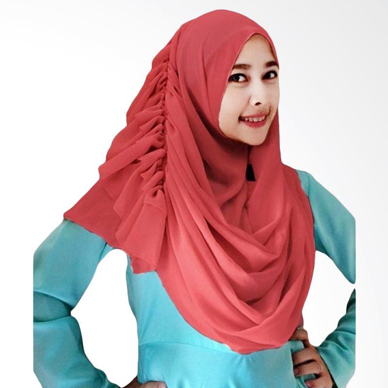 Kus Group Hijab Cassanova Kerudung - Maroon