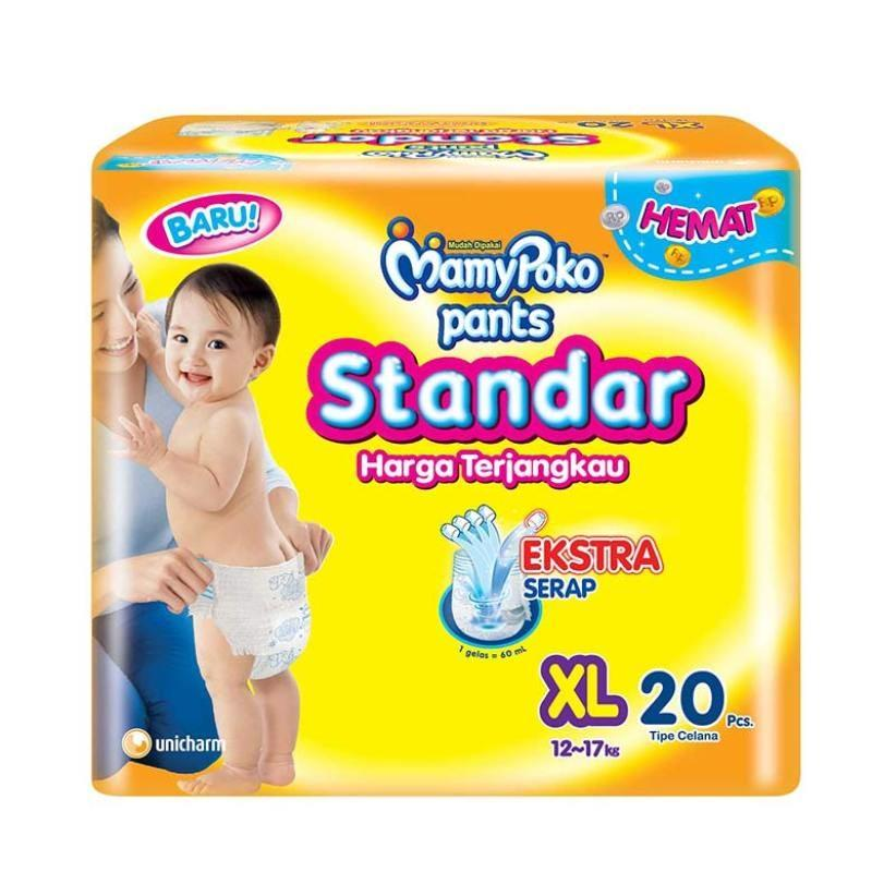 MamyPoko Pants Standar Popok [Size XL/ 20 Pcs]