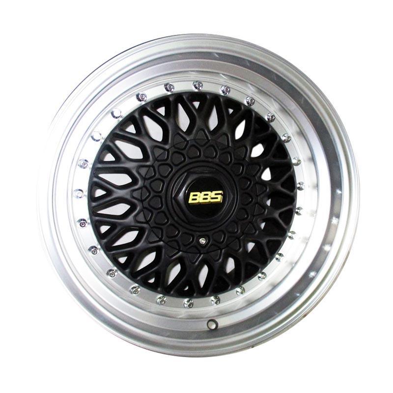 harga Replika BBS RS Velg Mobil - Black [PCD 4x100/4x114.3/16 Inch/Gratis Pasang] Blibli.com