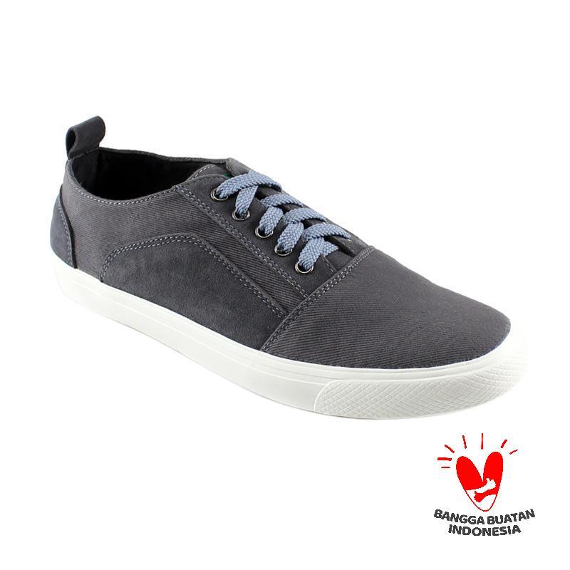 Dane and Dine New Knok Sneaker Sepatu Pria - Grey