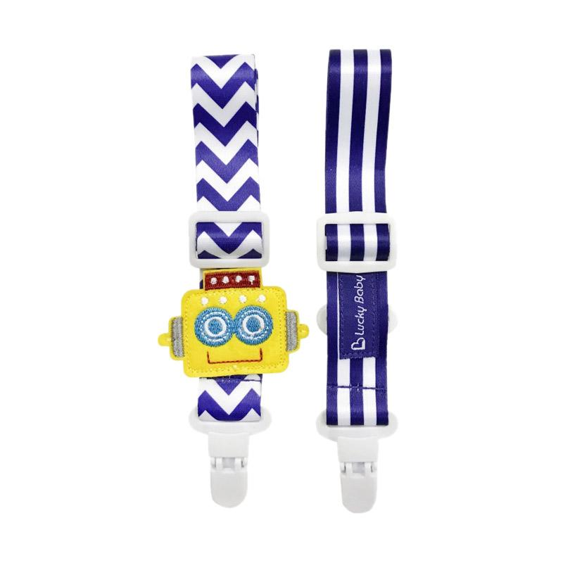 Lucky Baby Klipz On Adjustable Strap - Robot
