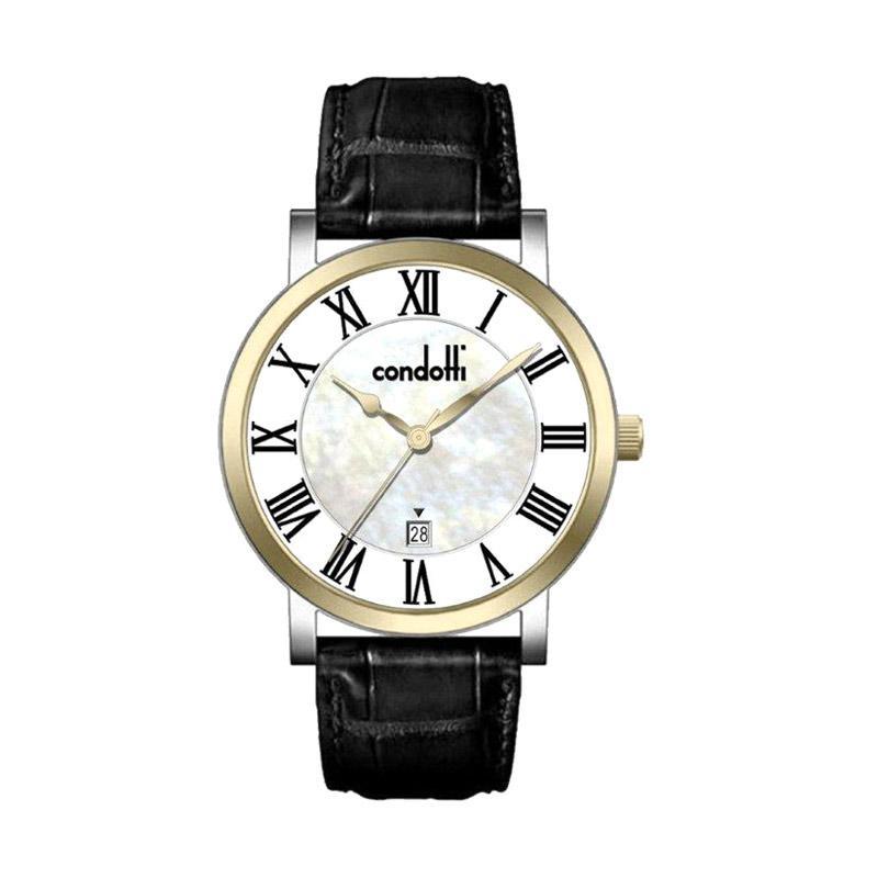 Condotti CN1009-G01-L03 Men Watches Jam Tangan Pria - Black