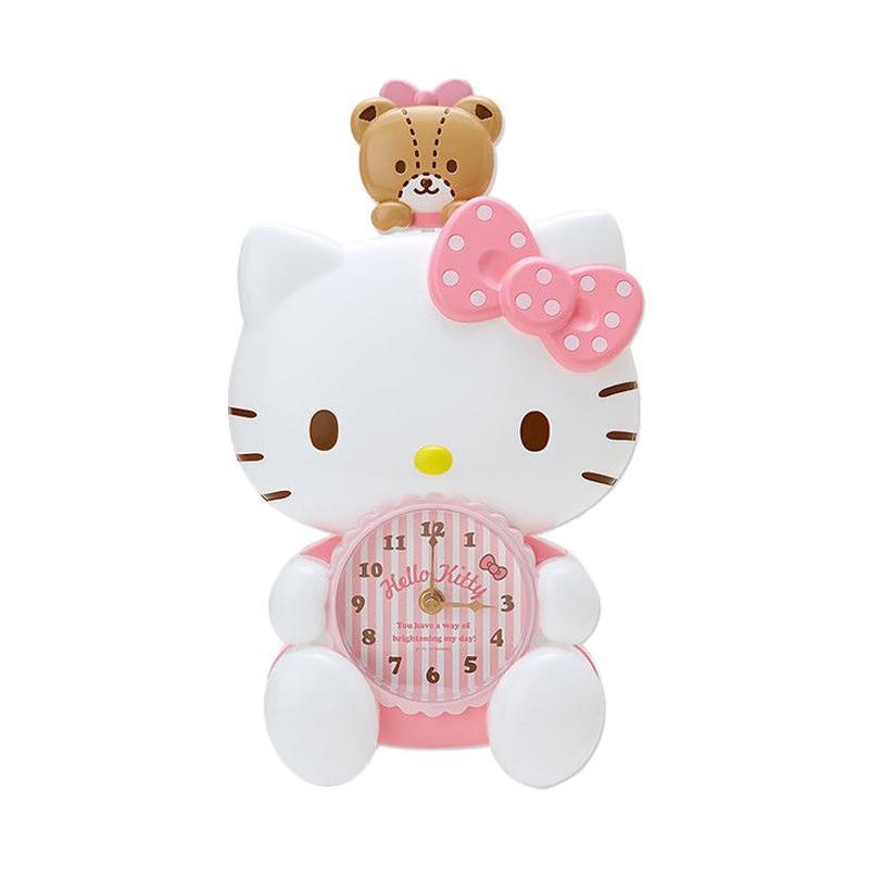 harga Hello Kitty Clock Sanrio Jepang Jam Dinding Blibli.com
