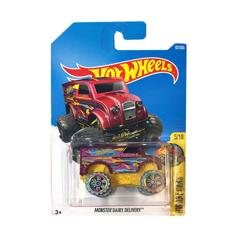 harga Hot Wheels Monster Dairy Delivery Diecast Blibli.com
